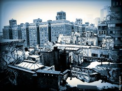 """Graffiti Roofs of New York City • <a style=""""font-size:0.8em;"""" href=""""http://www.flickr.com/photos/23470437@N08/7022484985/"""" target=""""_blank"""">View on Flickr</a>"""