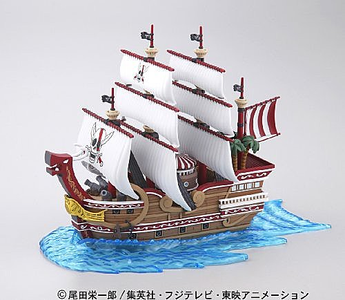 One Piece 海賊王Greatship Collection Red Force偉大的海賊船系列