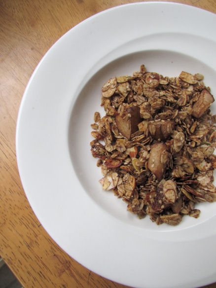 Healthy Homemade Granola Cereal