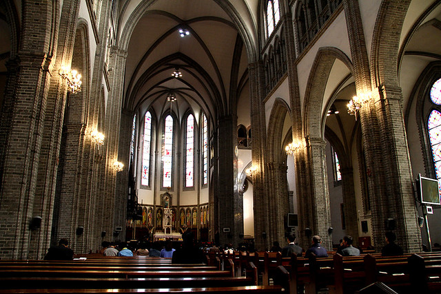 Wanderlust Wednesdays: Myeongdong Cathedral (Seoul, Korea)