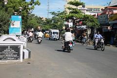 A wide angle view of Pondicherry (sajeevkokkattil) Tags: puducherry
