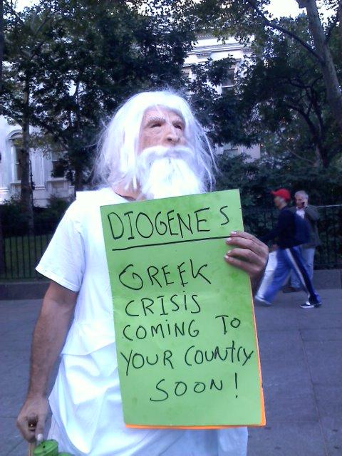 Hey, Diogenes, that's Cassandra's schtick!