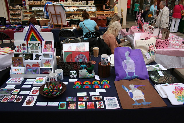 My stall at Make & Mend market