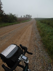 Damn gravel road. (Wojciechh) Tags: ocean road travel bridge camping camp sun house mountain beach home rain bicycle fog swimming fire freedom major us long desert awesome homeless cities sunny grand canyon days trail stealth miles states inspirational cheap touring