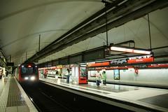 Barcelona - Metro: Estació Glóries