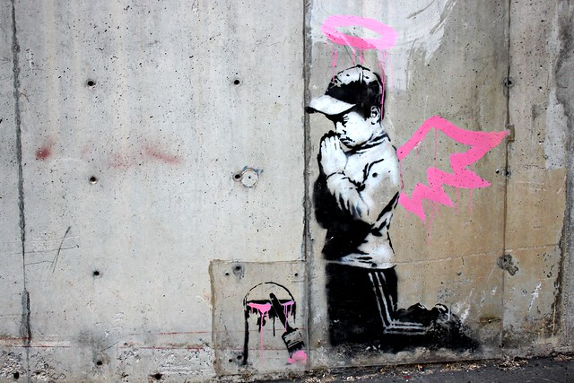 Banksy Angel/Vandal