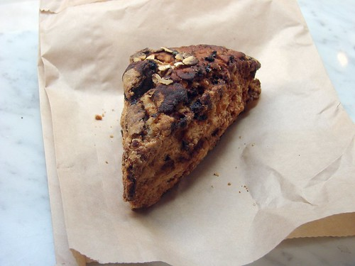 Danish Blue Date and Oat Scone
