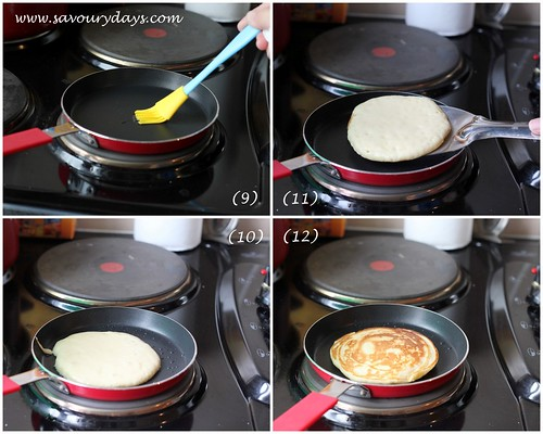 Pancake method 4
