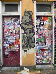 stickercombo (wojofoto) Tags: streetart amsterdam stickerart stickers combo stickercombo wojofoto