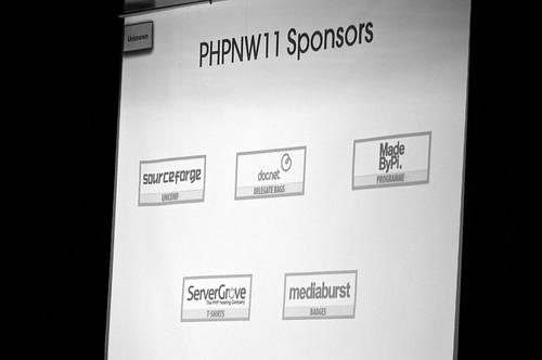 PHPNW11 Conference Sponsors List