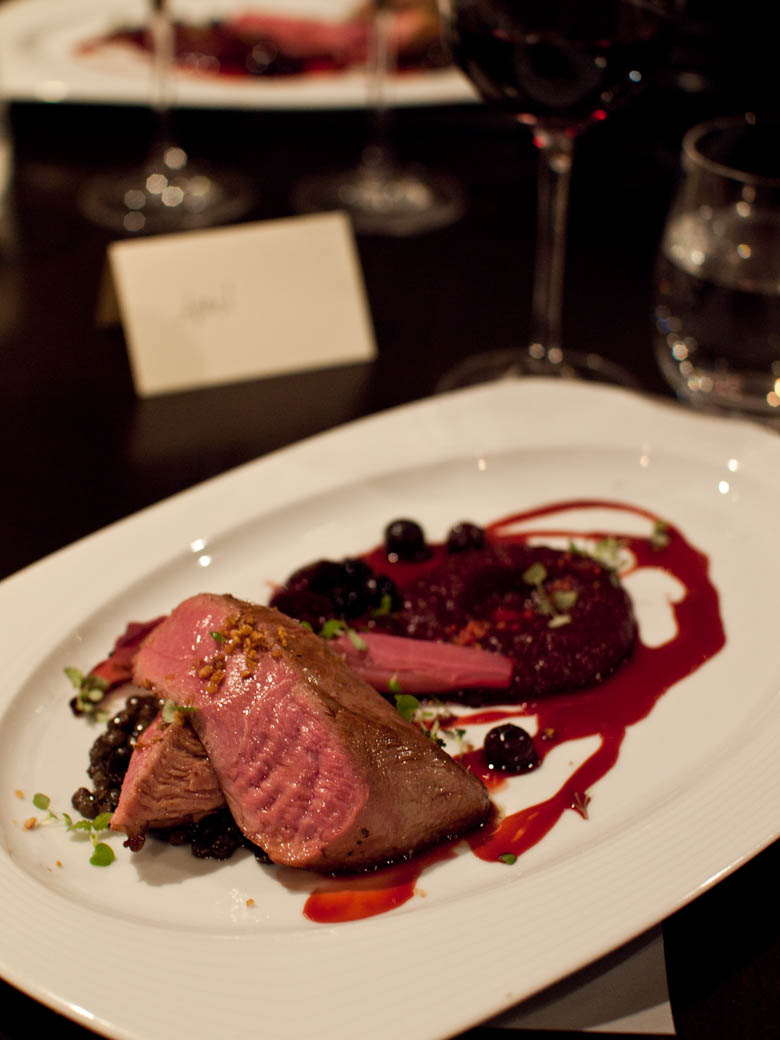 Nepenthe Wine Food Journey - Seared Aylesbury duck breast