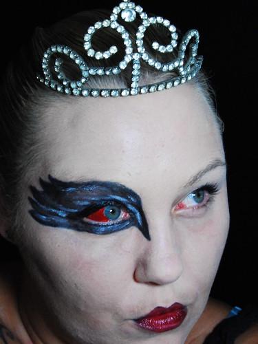 black swan eye