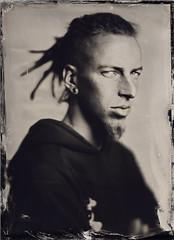 Paweł (Maciek Lesniak) Tags: portrait man male wet zeiss large plate format tessar collodion 13x18 globica