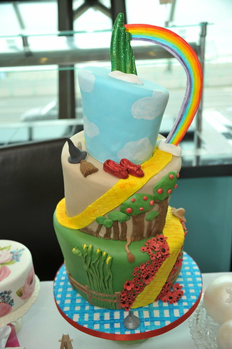 Wizard of Oz Wonky Cake