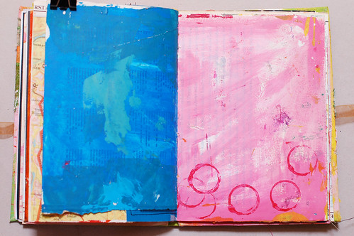 Journal of Scraps I: blue & pink