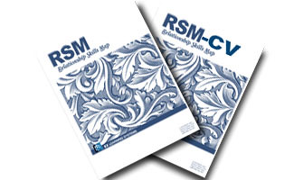 Front cover images of RSM® and RSM-CV®