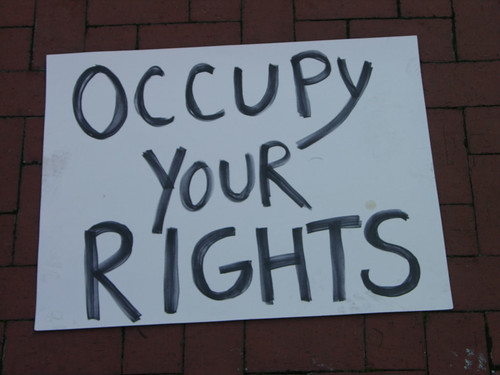occupy your rights