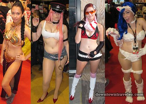 2011 NY Comic Con Women Bikini Costumes