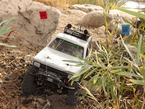 Axial / RECON G6 Challenge - Haunted Rock Park October 15, 2011