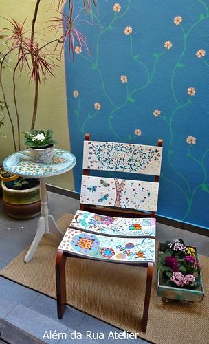 Transformação da cadeira Malawi, da meu Móvel de Madeira, por Veronica Kraemer