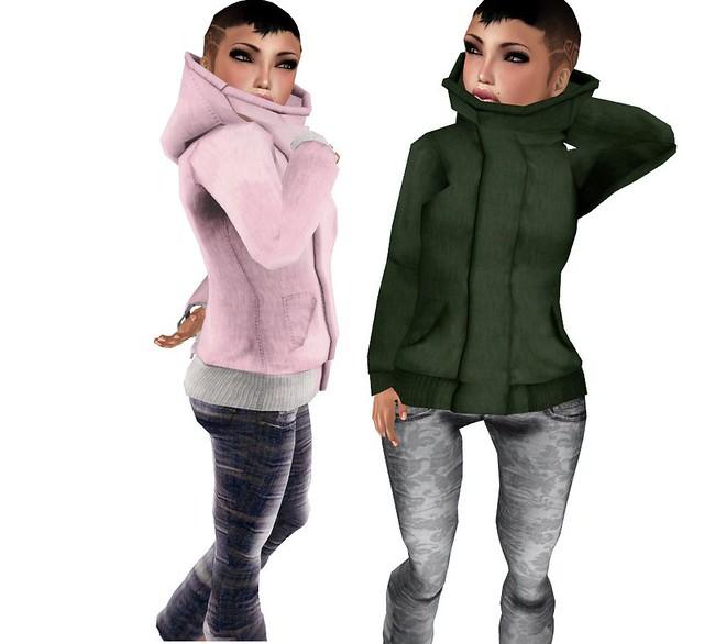 Hooded jacket  ( Mesh )