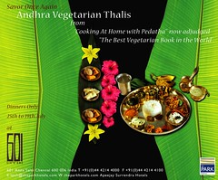 Andhra Food festival with traditional recipes
