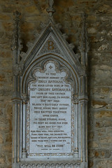 Memorial to Emily Bateman