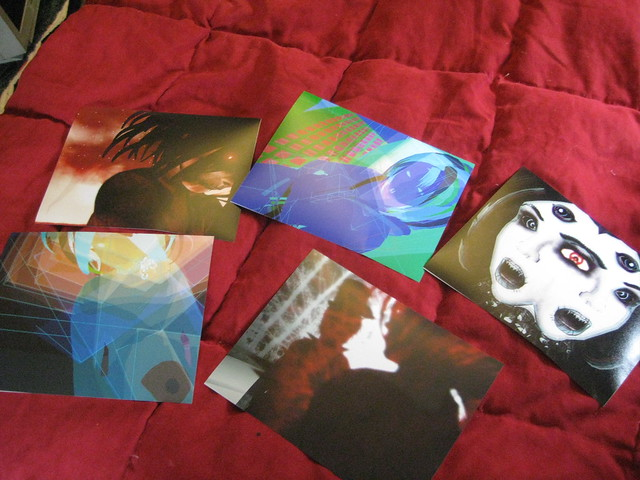 First run of 8x10 prints (not yet mounted)