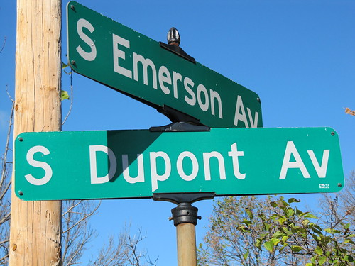 S Emerson Ave & S Dupont Ave
