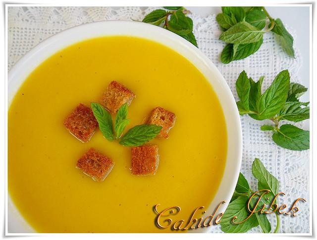 kabak çorbası
