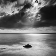 The Way of Light (DavidFrutos) Tags: longexposure bw costa seascape beach water monochrome rock clouds square landscape monocromo coast agua rocks playa paisaje bn alicante filter le lee nubes nd filters drama canondslr roca rocas 1x1 filtro largaexposición filtros gnd neutraldensity canon1740mm graduatedneutraldensity torredelahoradada densidadneutra davidfrutos 5dmarkii niksilverefexpro bigstopper singhraygalenrowellnd3ss