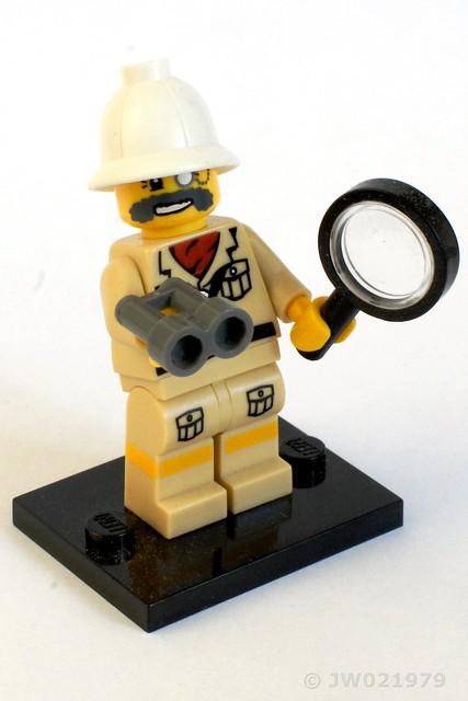 Lego Explorer Minifigure