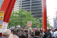 Occupy Wall Street, New York (nredmond) Tags: nyc newyorkcity people ny newyork manhattan financialdistrict wallstreet protests occupywallstreet