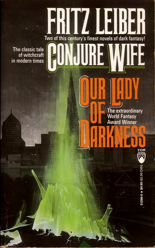 FORGOTTEN BOOKS #203: CONJURE WIFE/OUR LADY OF DARKNESS By