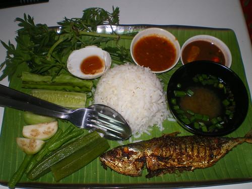 Nasi Ulam Ikan