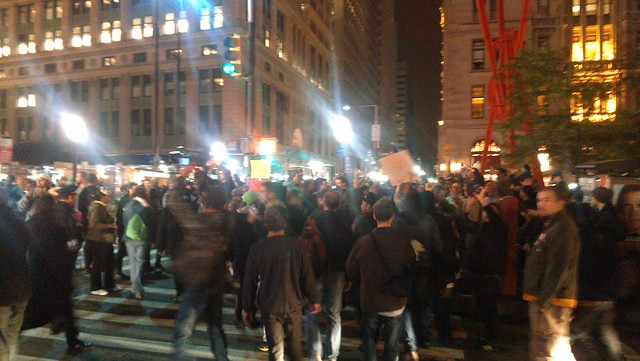 Back at Zuccotti #ows #occupywallstreet