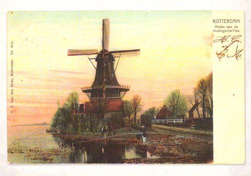Pastkarte no Nīderlandes