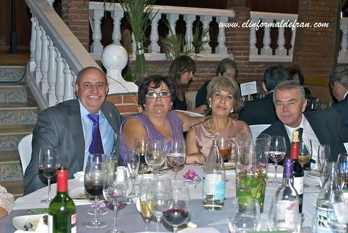 Cena XV Aniversario de la AECC en Melilla