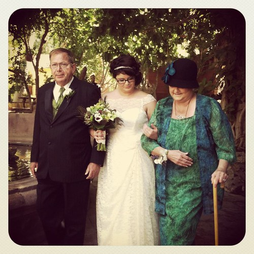 my parents walking me down the aisle by ceck0face