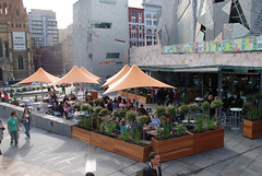 Federation Square, Melbourne (courtesy of Project for Public Spaces)