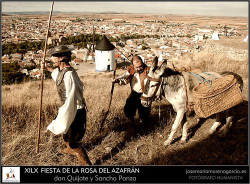don Quijote y Sancho Panza by José-María Moreno García = FOTÓGRAFO HUMANISTA