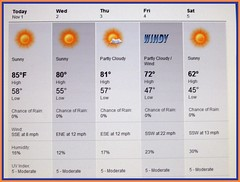 our weather .......a change is comin'! (suzanne~in~phoenix) Tags: arizona phoenix weather prediction