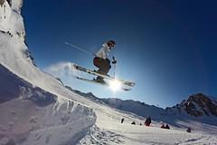 Kitzsteinhorn Funpark (mr-mojo-risin) Tags: schnee winter sun mountain snow ski alps berg snowboarding austria skiing glacier snowboard alpen zellamsee funpark kaprun kitzsteinhorn