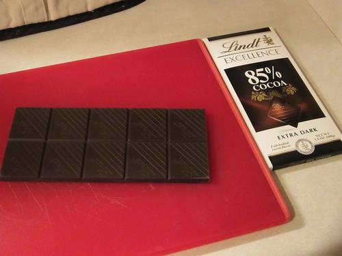 85% cacao