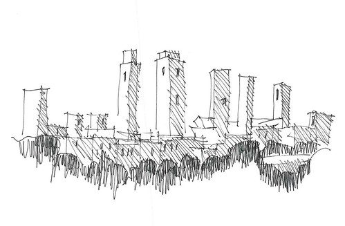 Italian work doodle