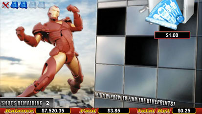 Iron Man bonus game