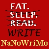 NaNoWriMo-Eat Sleep Read