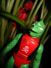 Lizard Man of the Shadows! (skipthefrogman) Tags: uk red man vintage fun toy europe cobra shadows action cousins bad guys joe figure gi overseas skipthefrogman
