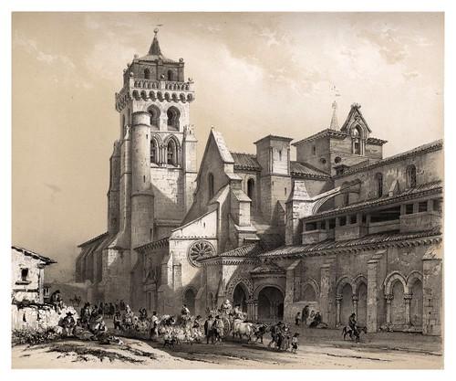 003-Monasterio de las Huelgas en Burgos-España artística y monumental.. Tomo I-1842-1850-Genaro Perez de Villa-Amil
