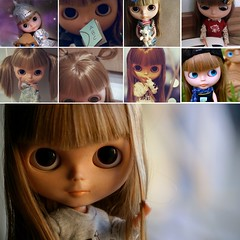 9 X Alice! (Bruna Lacrout ) Tags: doll alice tagged blythe bangs custom favs cuthair rbl wiwi takaratomy 9x liccabody ninetimes ixtee pdww ttyajeans novevezes